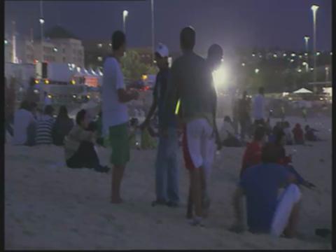 New Year's on Bondi Beach