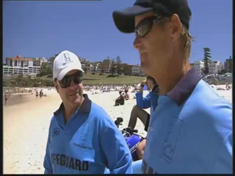 Summer's closing on Bondi Beach
