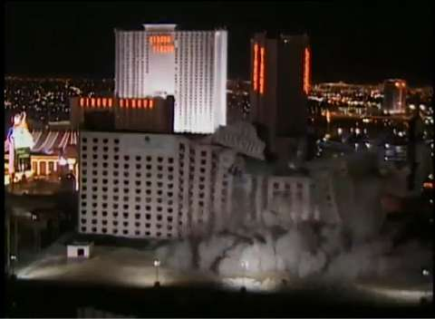 Spectacular implosions in Vegas