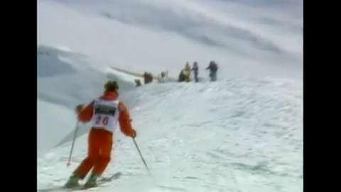 Skier Free Falls