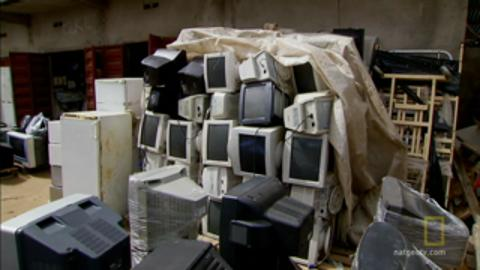 Africa's Biggest Recycled Electronic Market