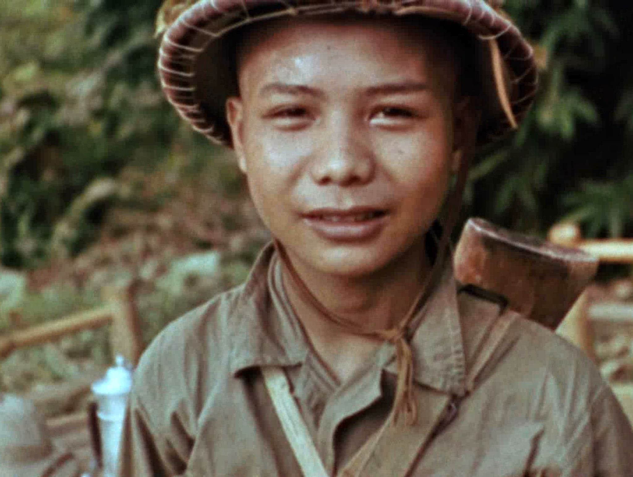 Vietnam:  A Vietminh soldier in Dien Bien Phu.  This image is from Apocalypse: War of Worlds. [Photo of the day - February 2020]