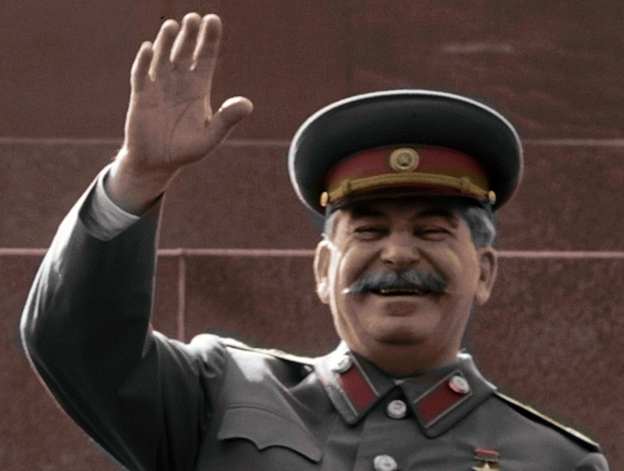 Moscow, Russia:  Stalin in the Kremlin for the military parade.  This image is from Apocalypse:... [Photo of the day - February 2020]