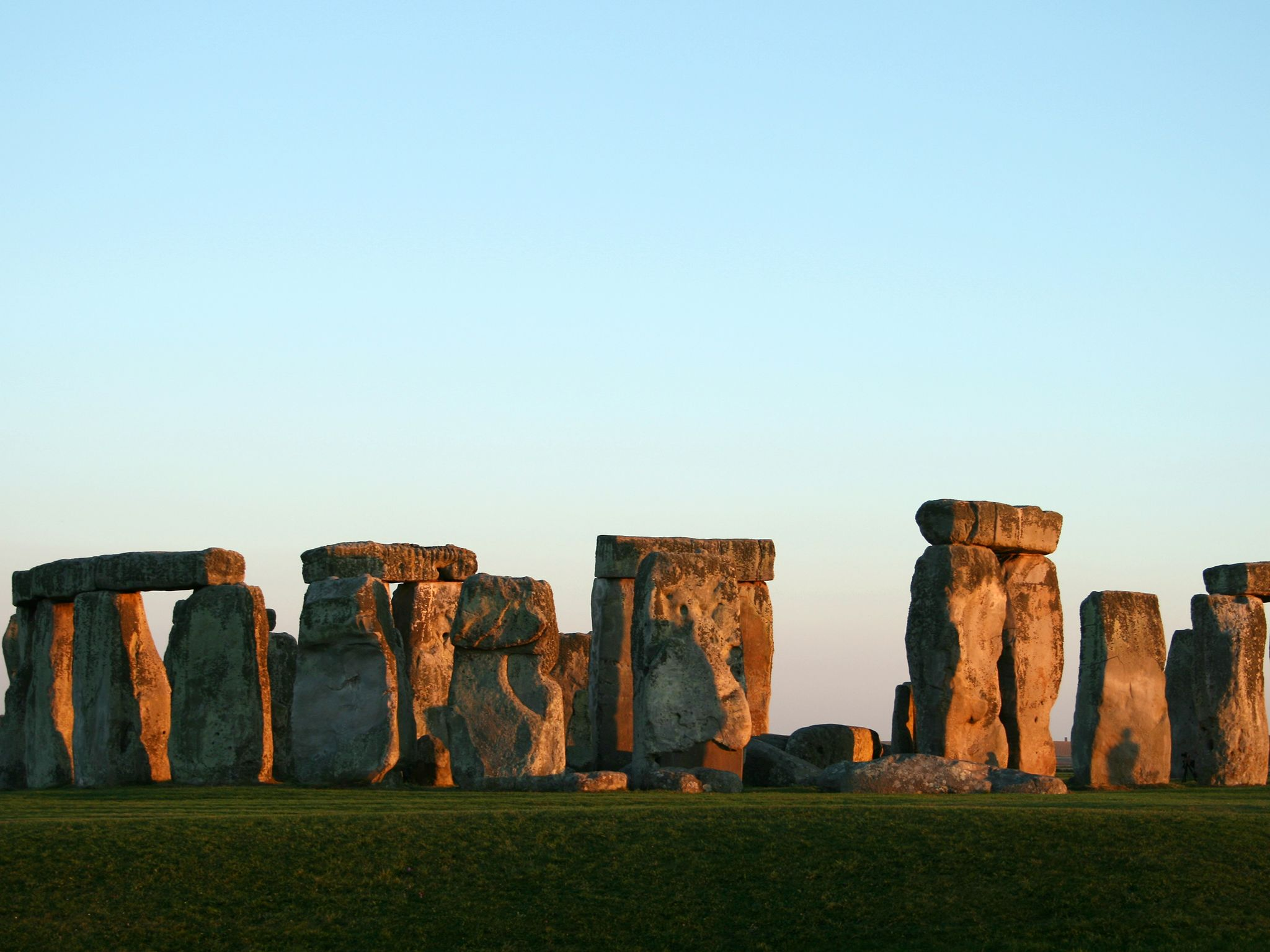 Stonehenge in the evening. This image is from Stonehenge Decoded: Secrets Revealed. [Photo of the day - April 2020]