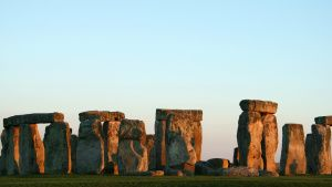 Stonehenge in the evening. This... [Photo of the day -  6 APRIL 2020]