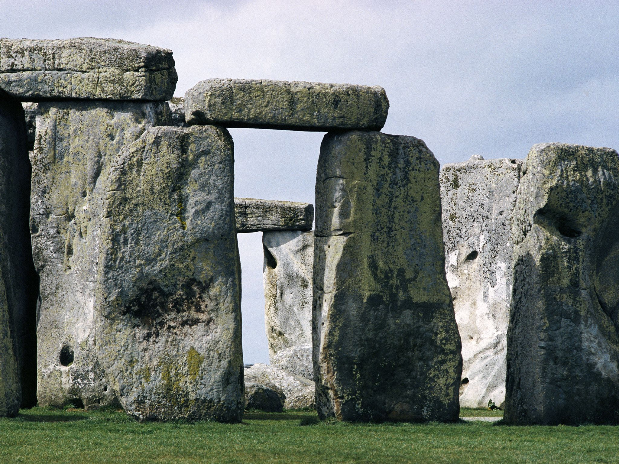 Stonehenge was built in three phases beginning about 3,100 B.C. This image is from Stonehenge... [Photo of the day - April 2020]