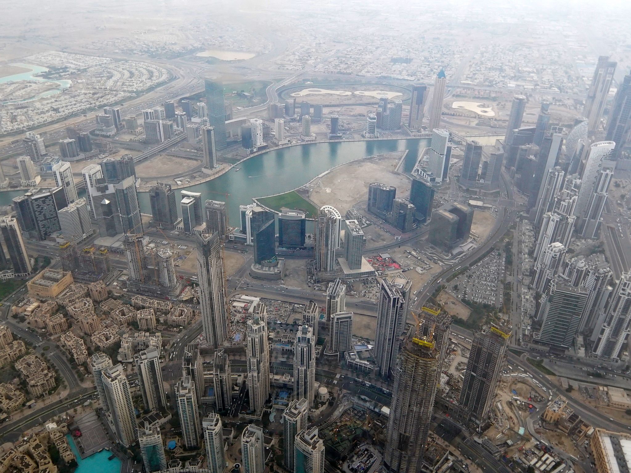 View from Burj. This image is from Superstructures: Engineering Marvels. [Photo of the day - May 2020]