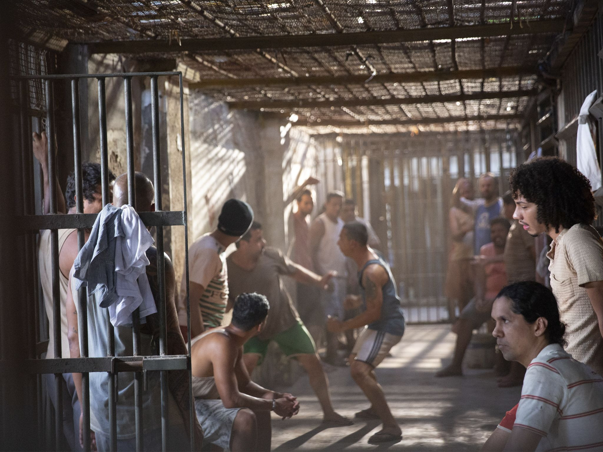 Inmates fighting in prison. This image is from Locked Up Abroad. [Photo of the day - July 2020]