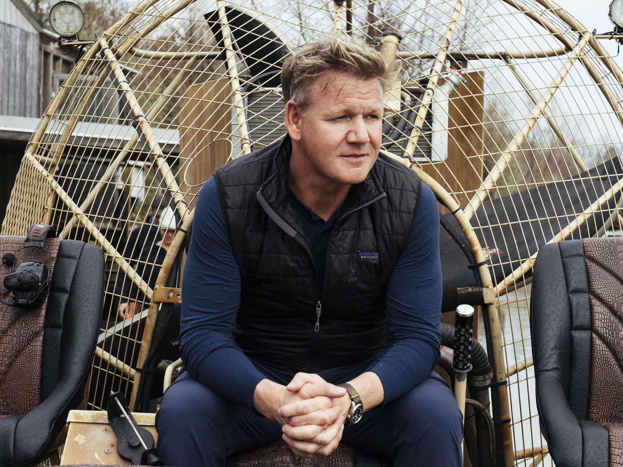 Gordon Ramsay in southern Louisiana. This image is from Gordon Ramsay: Uncharted. [Photo of the day - September 2020]