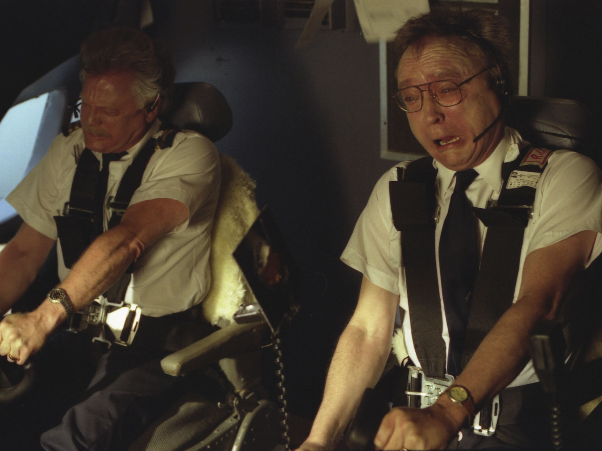 The pilots yank on the yoke to keep the plane from plunging downward. This is from Air Crash... [Photo of the day - September 2020]