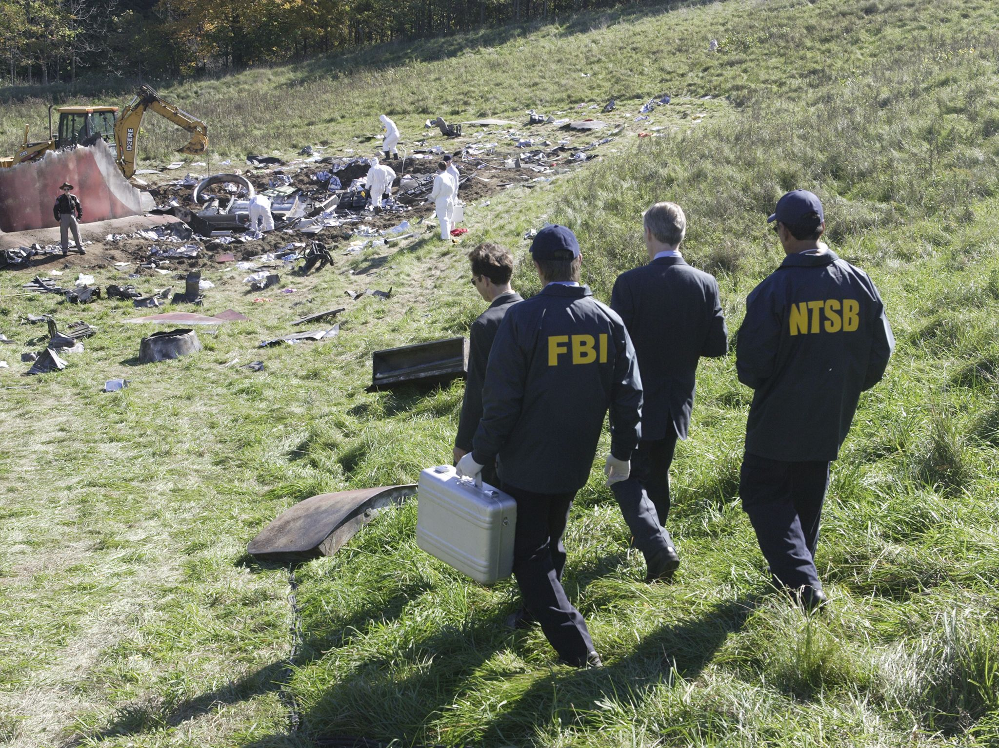 The FBI and the NTSB make their way to the plane wreckage. This image is from Air Crash... [Photo of the day - September 2020]