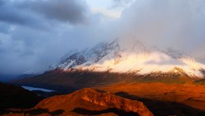 Torres del Paine mountain looming in... [Photo of the day - 22 NOVEMBER 2020]