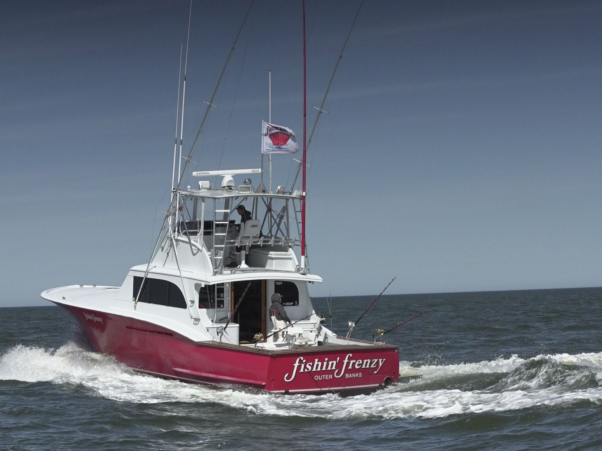 Fishin' Frenzy boat. This image is from Wicked Tuna: Outer Banks. [Photo of the day - November 2020]