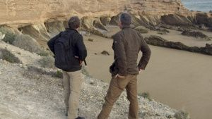 Geologist Eric Drummond and Host Sam... [Photo of the day -  2 DECEMBER 2020]