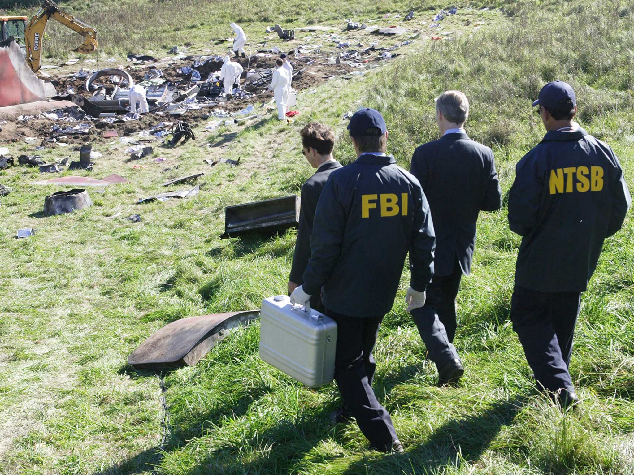 The FBI and the NTSB make their way to the plane wreckage. This image is from Air Crash... [Photo of the day - January 2021]