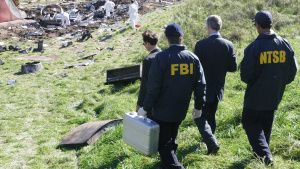 The FBI and the NTSB make their way... [Photo of the day - 16 JANUARY 2021]