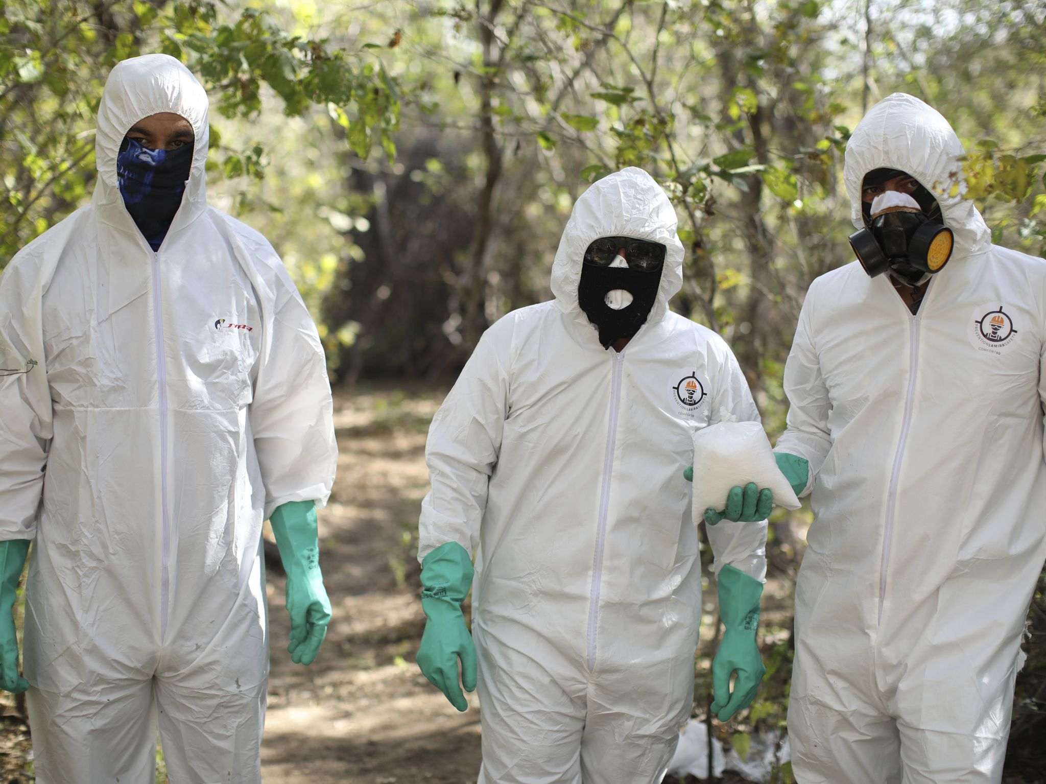 Meth labs run by the Mexican cartels can produce upwards of 400 kilos of crystal meth per month.... [Photo of the day - February 2020]
