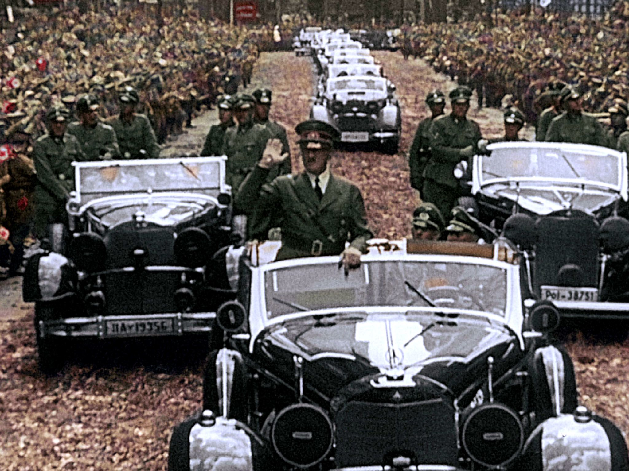 On July 6, 1940, the Berliners cheered their victorious leader.  This image is from Apocalypse:... [Photo of the day - March 2021]