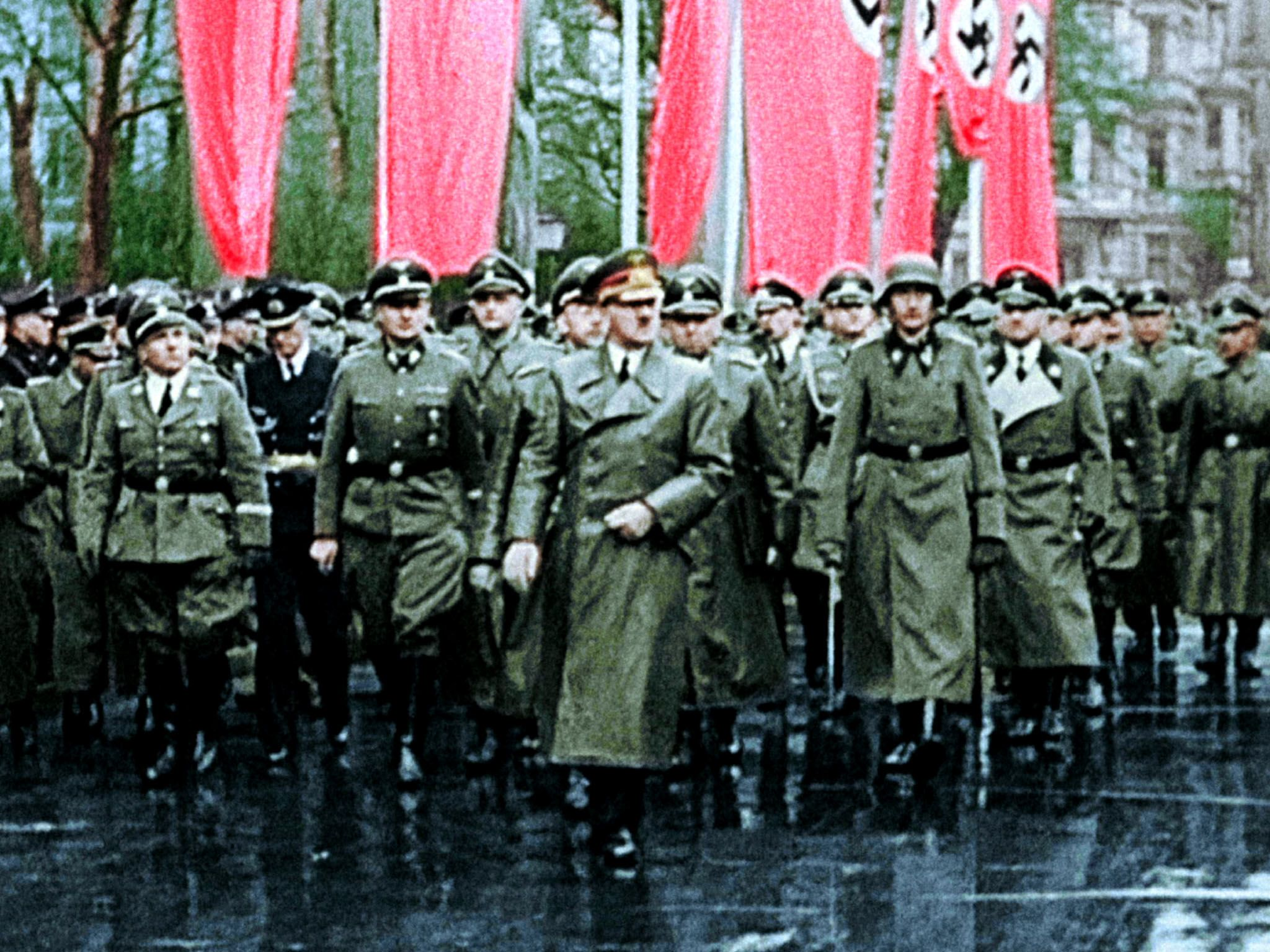 itler and his troops during a parade. This image is from Apocalypse: Hitler Takes On The West. [Photo of the day - March 2021]
