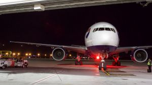 A plane arrives at International... [Photo of the day -  9 MARCH 2021]
