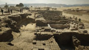 Abydos, Egypt - Excavations at the... [Photo of the day -  3 AUGUST 2021]