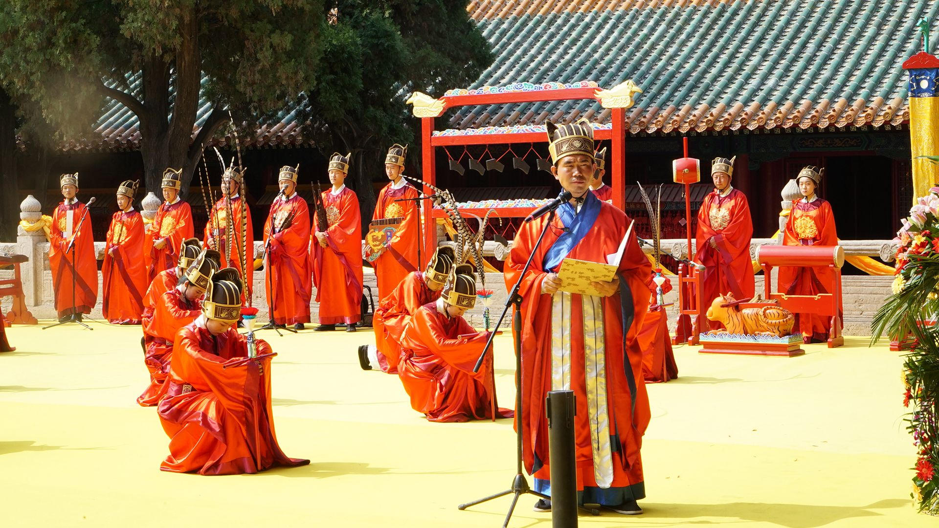 Confucious Ceremony. This is from Tracing Heritage [Photo of the day - October 2021]
