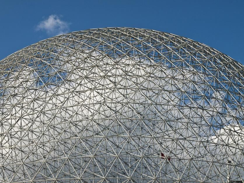 The Expo 1967 Geodesic Dome, now called the Biosphere, in Montreal. Canada. [Photo of the day - September 2011]