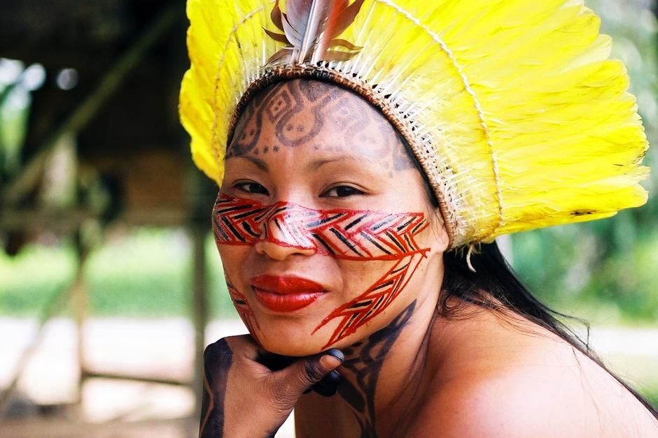 Raimunda, Yawanawa shaman. This image is from For Real. [Photo of the day - سپتامبر 2012]