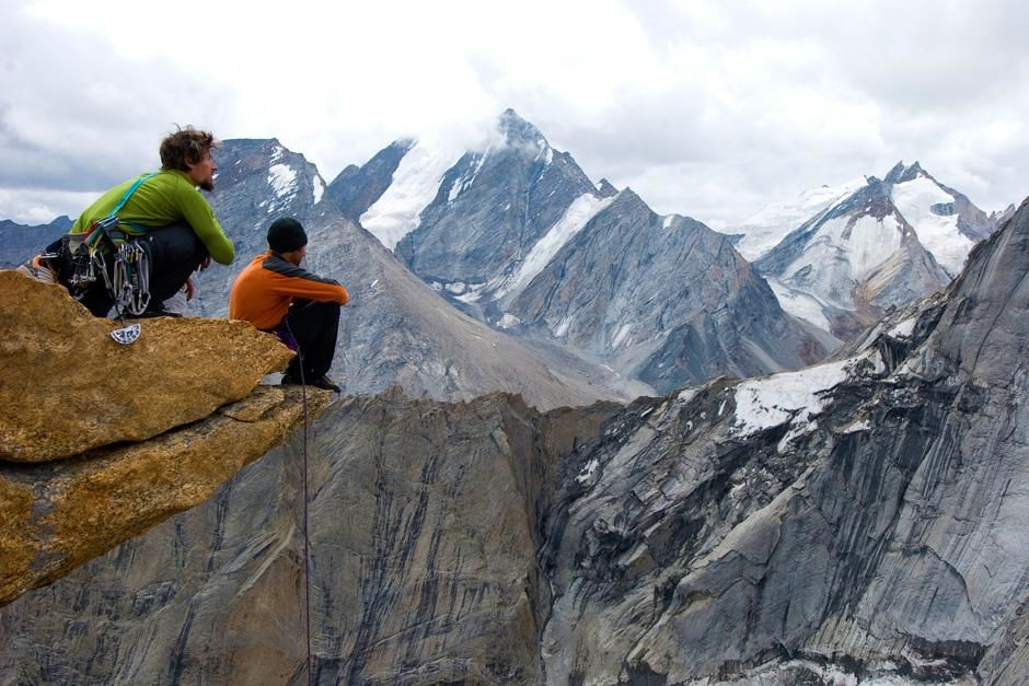 Kashmir: Jonny Copp (left) and Micah Dash admiring the view in Kashmir. This image is from First... [Photo of the day - October 2012]