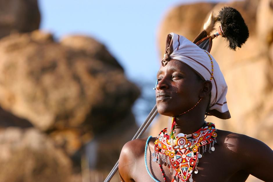 Kenya: Boni, a Maasai warrior. This image is from Warrior Road Trip. [Photo of the day - November 2012]