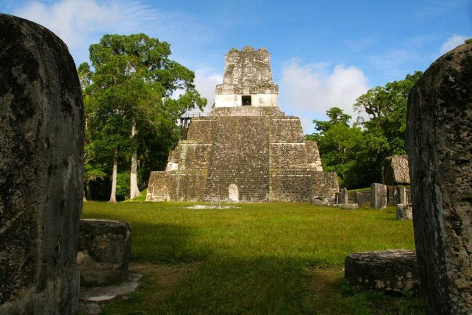 Tikal in Guatemala. This image is from Mayan Apocalypse. [Photo of the day - ديسمبر 2012]