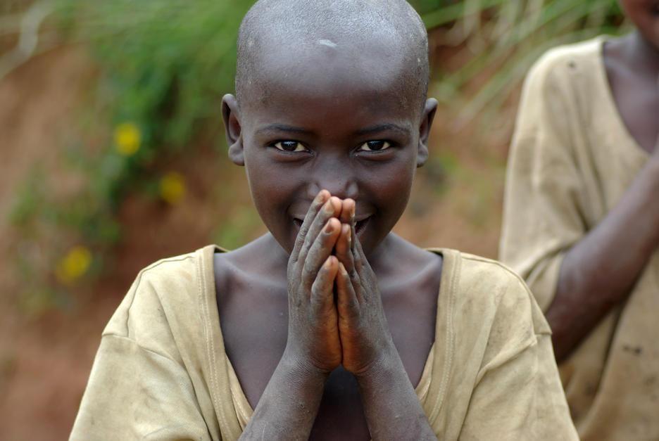 صورة طفل. رواندا. [Photo of the day - أكتوبر 2011]