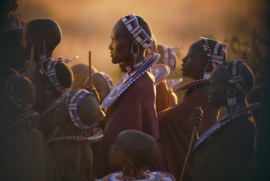 Despite government pressure to modernise, the proud, pastoral Masai cling to traditional dress... [Photo of the day - December 2011]