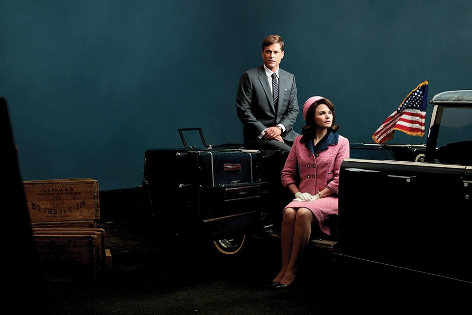 USA: Rob Lowe as President John F. Kennedy and Ginnifer Goodwin as First Lady Jacqueline Kennedy... [Photo of the day - November 2013]