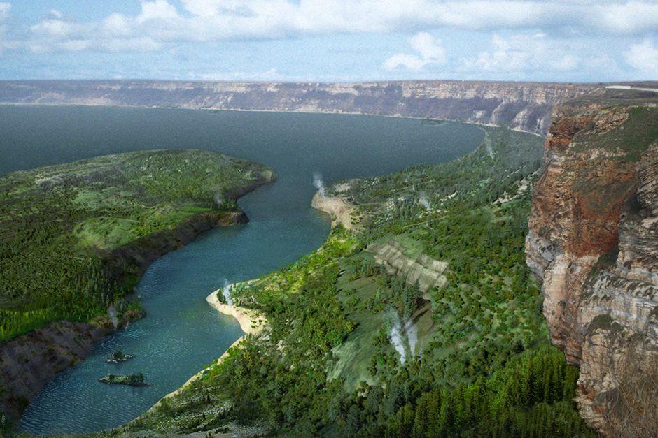Capo Kaliakra, Bulgaria: un'immagine della valle del Black Se. [Foto del giorno - dicembre 2013]