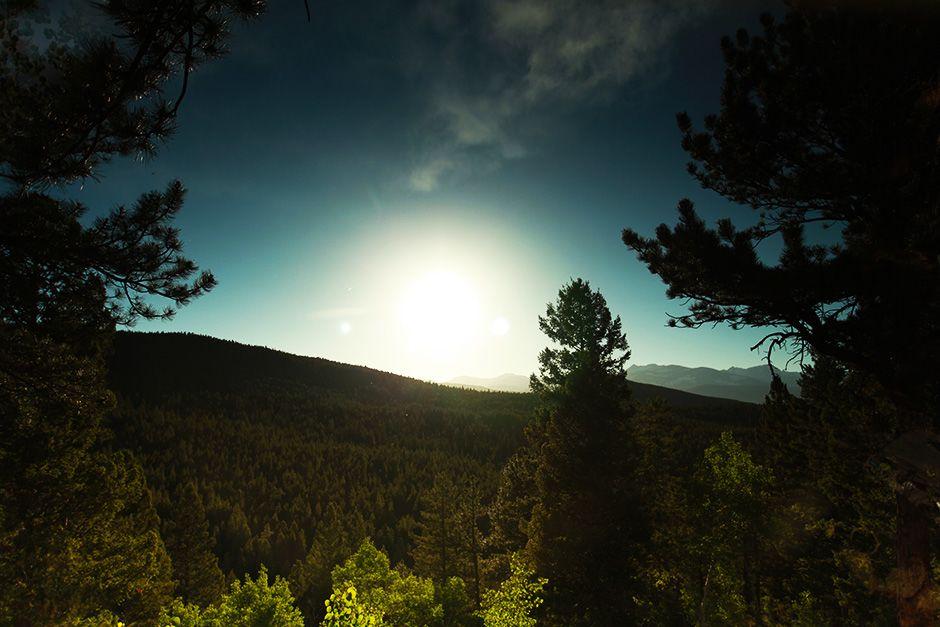 Black Hawk, USA: scatto di un paesaggio tra le colline del Colorado. [Foto del giorno - December 2013]