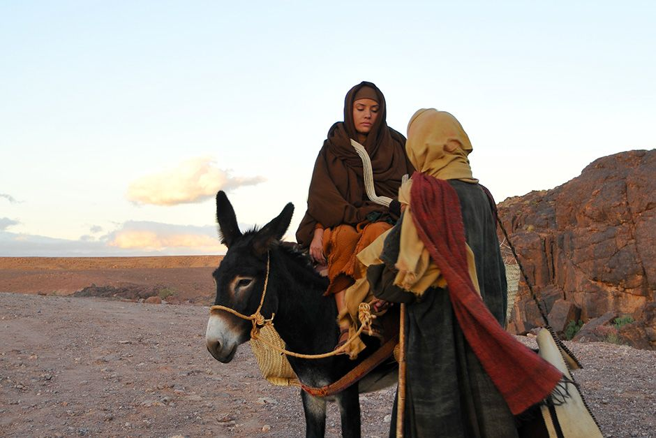 Joseph and Mary's journey from Nazareth to Bethlehem is recorded in the Gospel of Luke. This... [Photo of the day - December 2013]
