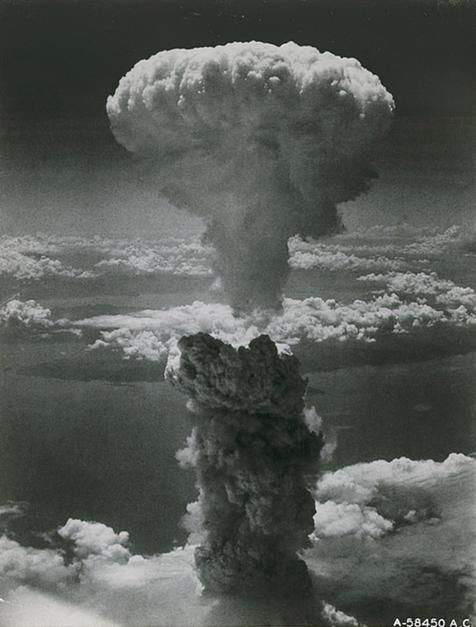 An atom bomb blasts Nagasaki on August 9, 1945, signaling the end of World War II. The heart of... [Photo of the day - August 2011]