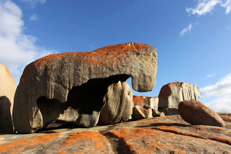 Arroccate sul mare del Flinders Chase National Park, le imponenti Remarkable Rocks formano... [Foto del giorno - August 2014]