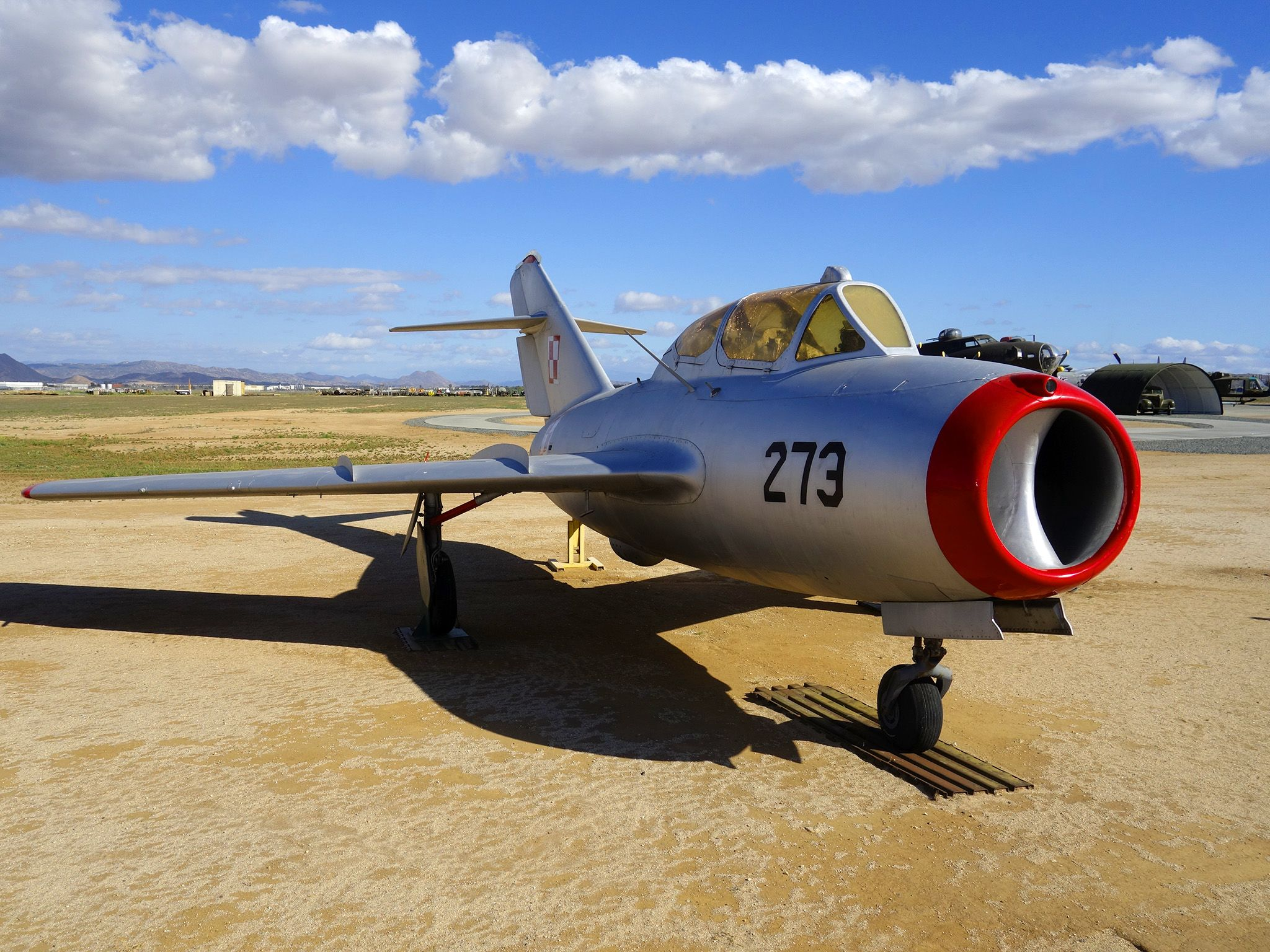 Riverside, California, USA: MiG-17 is a high-subsonic fighter aircraft, it was researched at... [Photo of the day - October 2014]