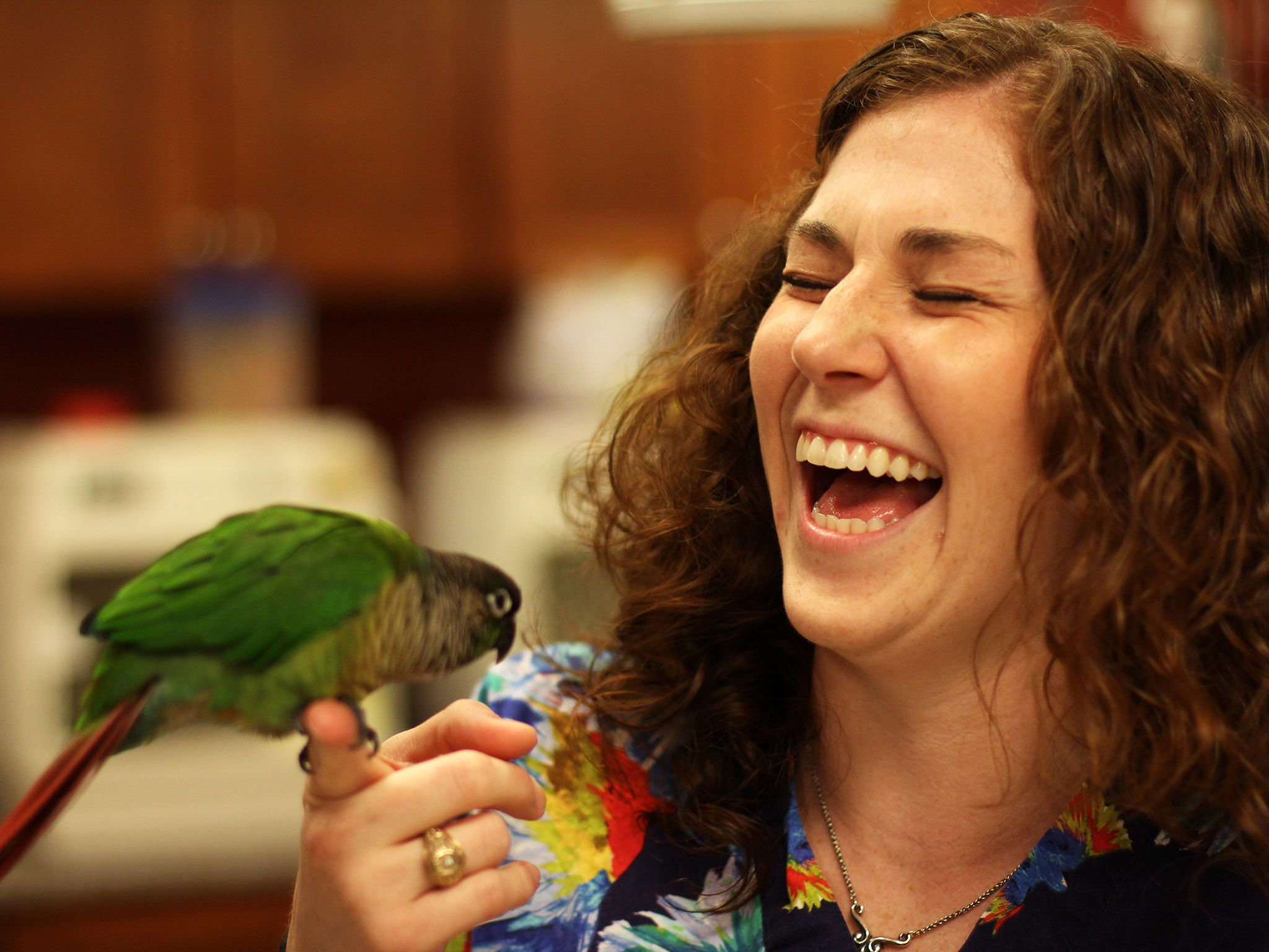 Dr. Lauren Thielen has always had an interest in exotic animals. She worked as a veterinary... [Photo of the day - October 2014]