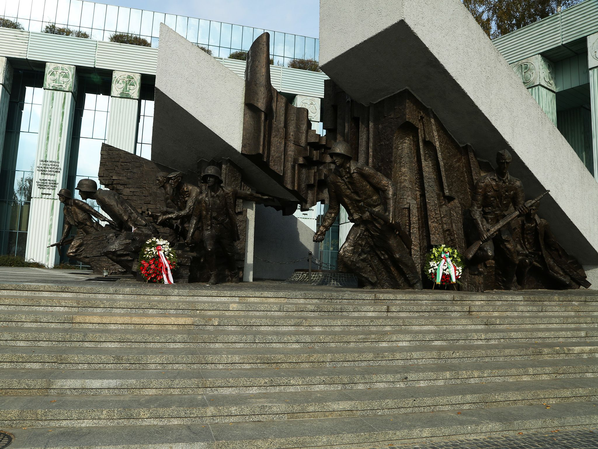 Poland: The Warsaw Ghetto uprising memorial. This image is from After The Annex. [Photo of the day - مارس 2015]