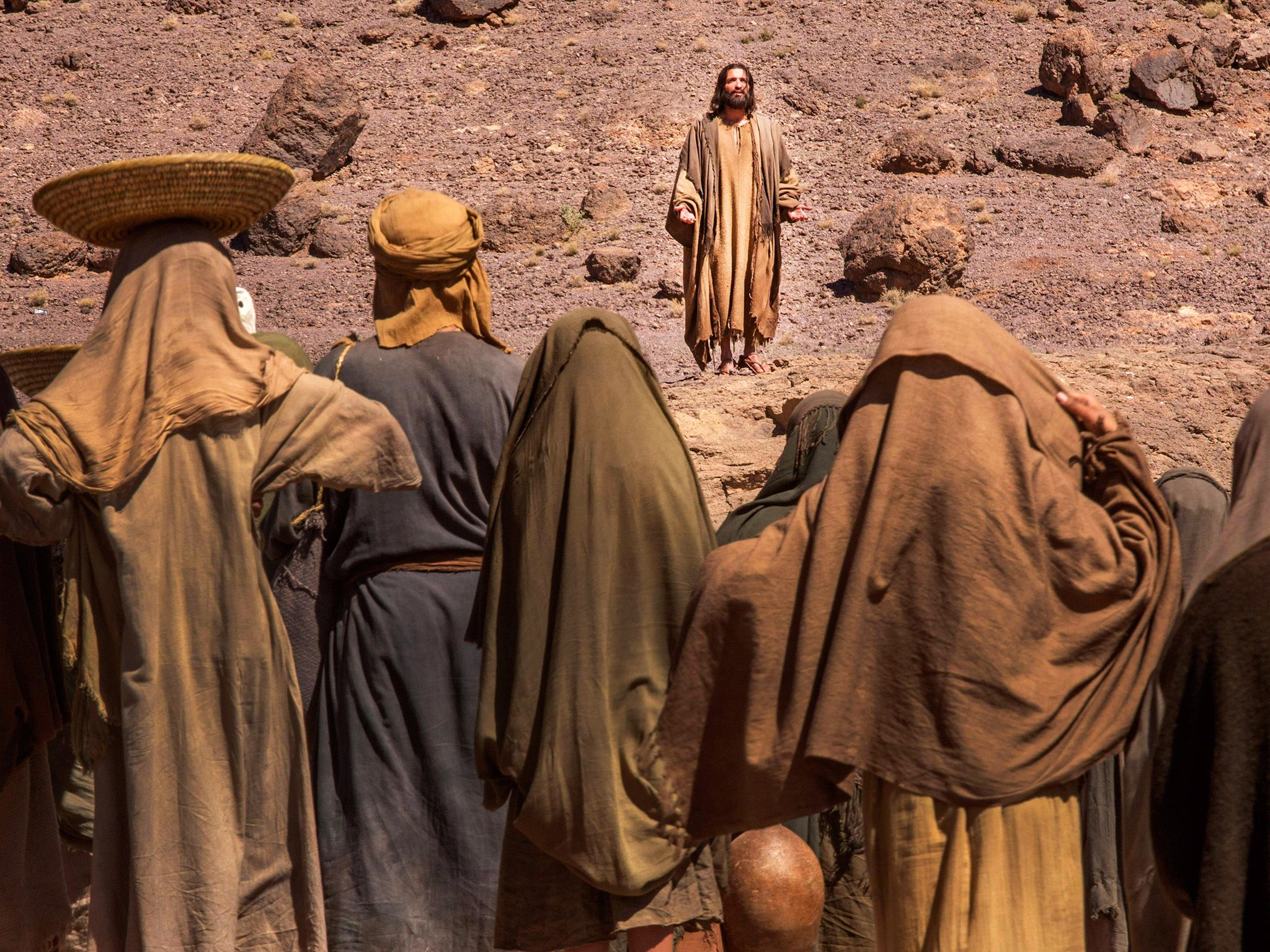National Geographic Channel's Killing Jesus. This image is from Killing Jesus. [Photo of the day - مارس 2015]