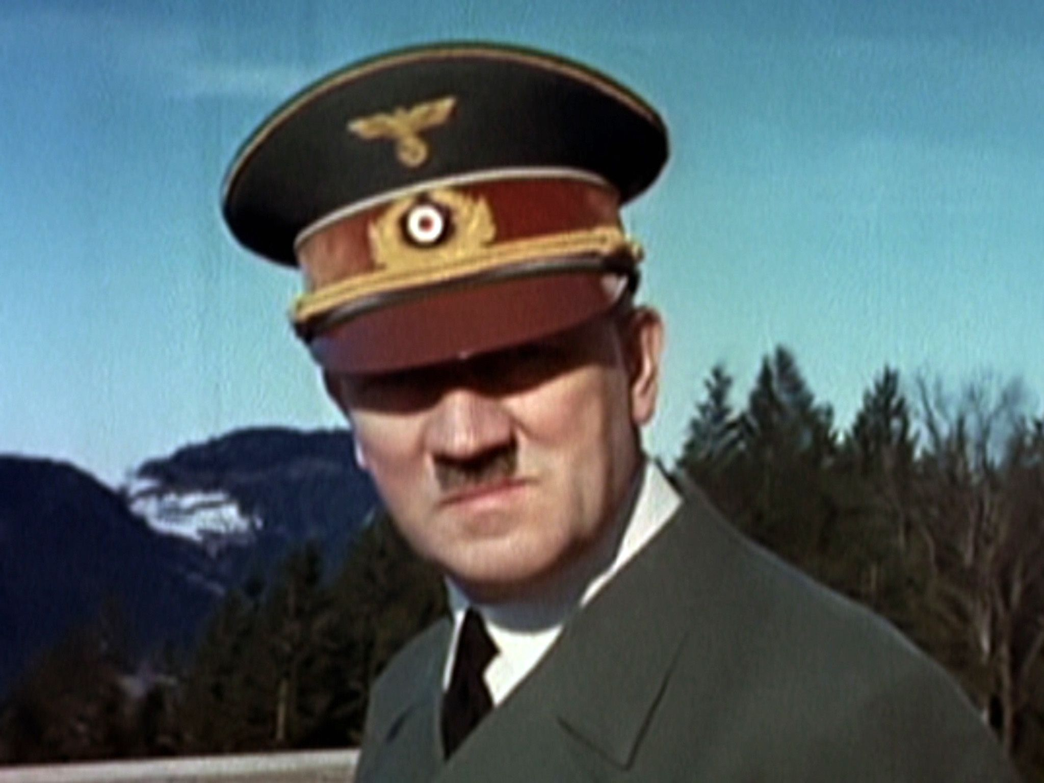Berghof (Bavaria), Germany: An image of Adolf Hitler from a film of Eva Braun. This image is... [Photo of the day - May 2015]