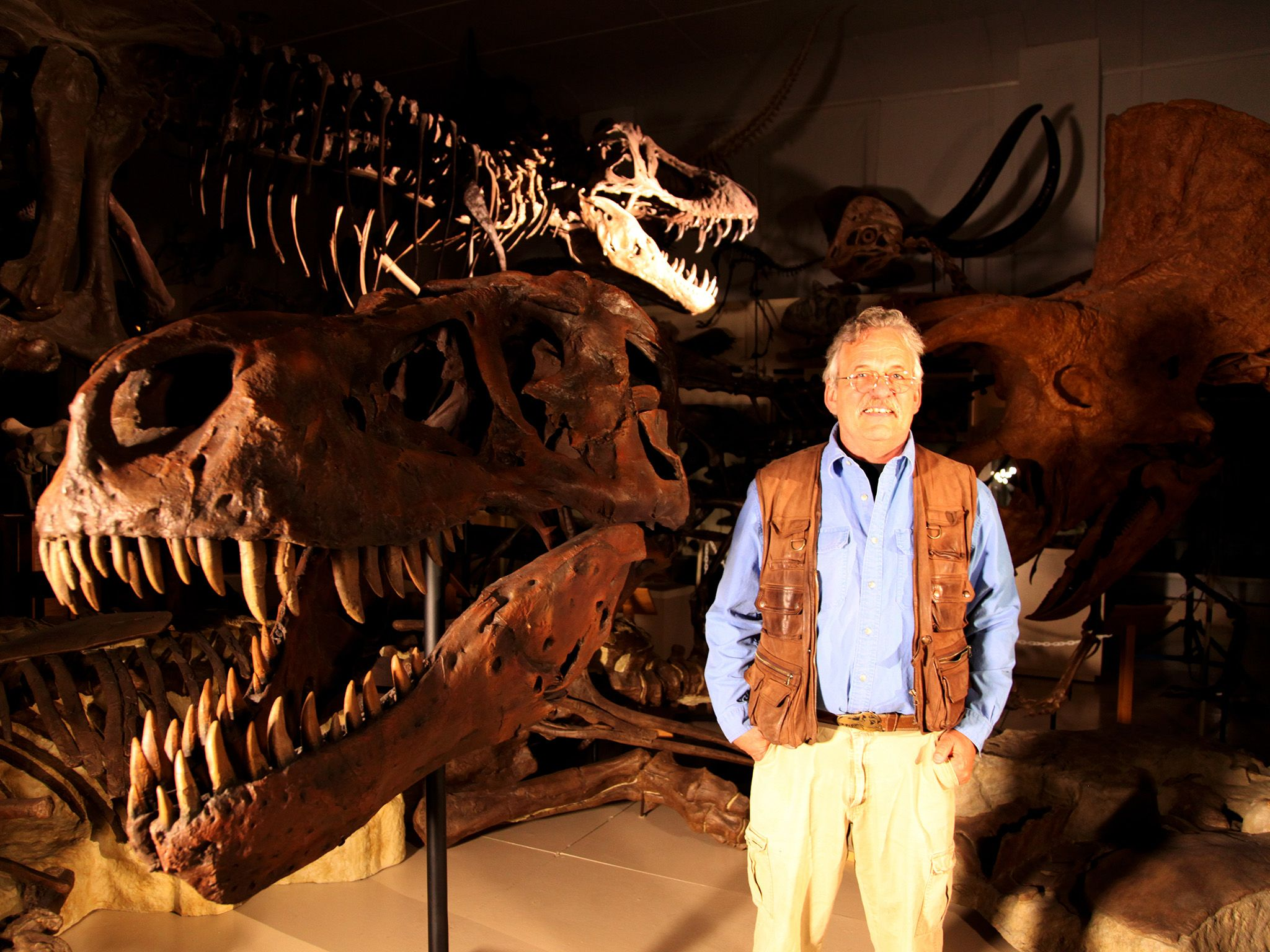 Hill City, South Dakota : Pete Larson, paleontologo e presidente del Black Hill Institute of... [Foto del giorno - giugno 2015]