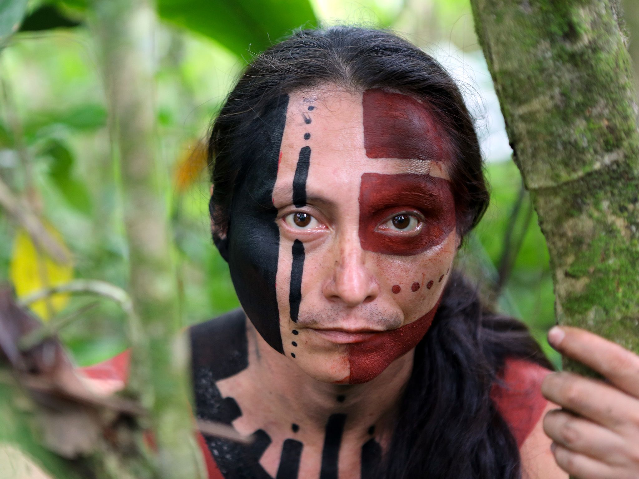 Dramatization: A mystery native person of La Mosquitia, Honduras. This image is from Legend of... [Photo of the day - 十月 2015]