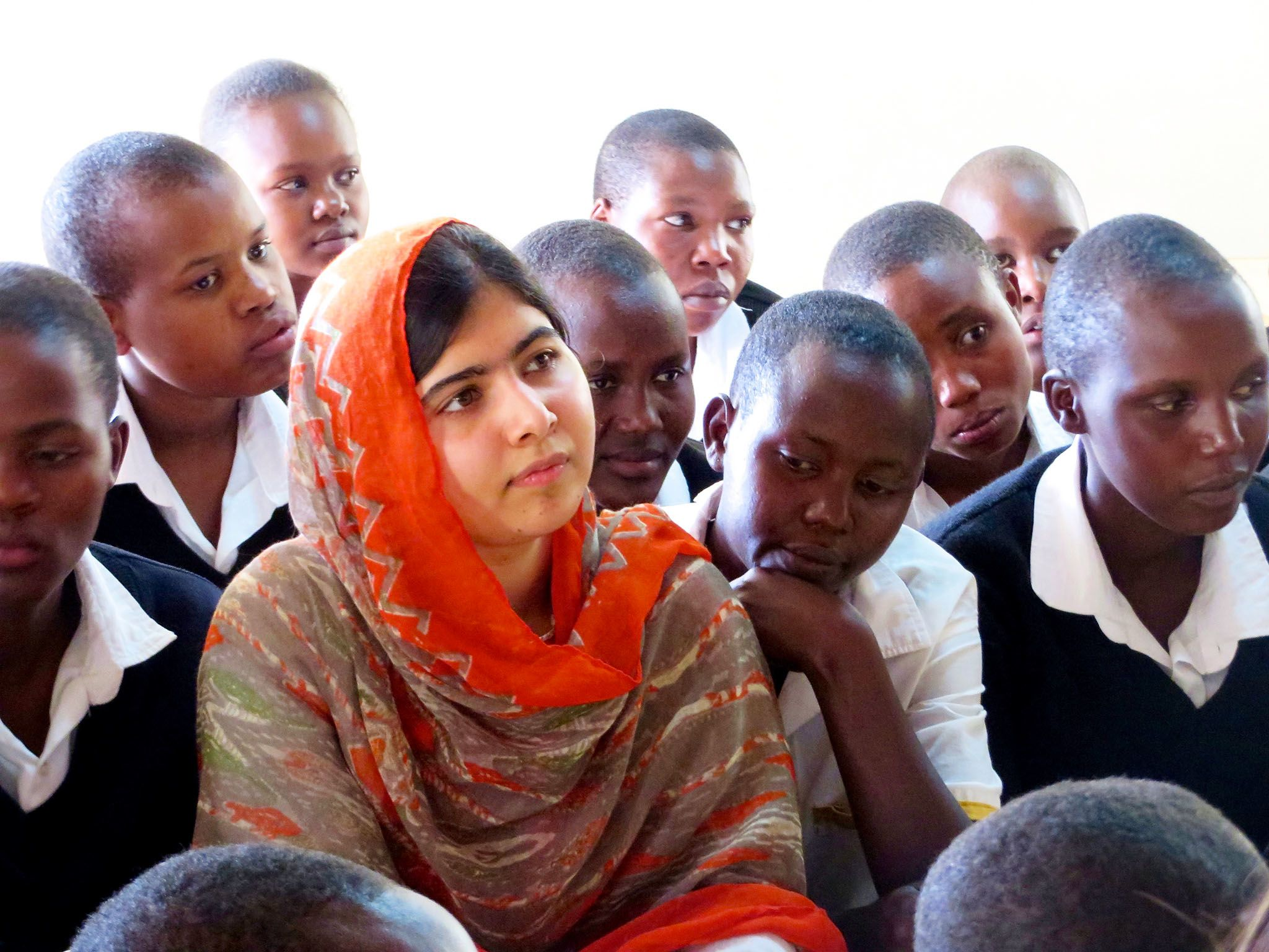 Malala Yousafzai. This image is from He Named Me Malala. [Photo of the day - مارس 2016]