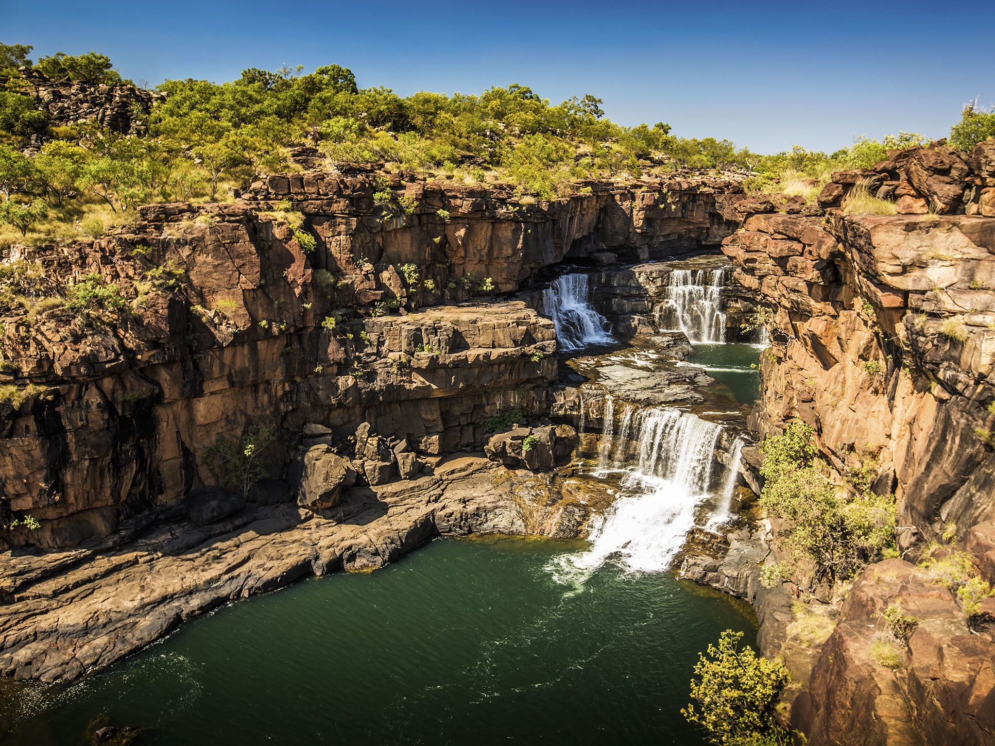 Kimberley, Australia: Mitchell Falls and Kimberley Landscape This image is from Secret Life of... [Photo of the day - مارس 2016]