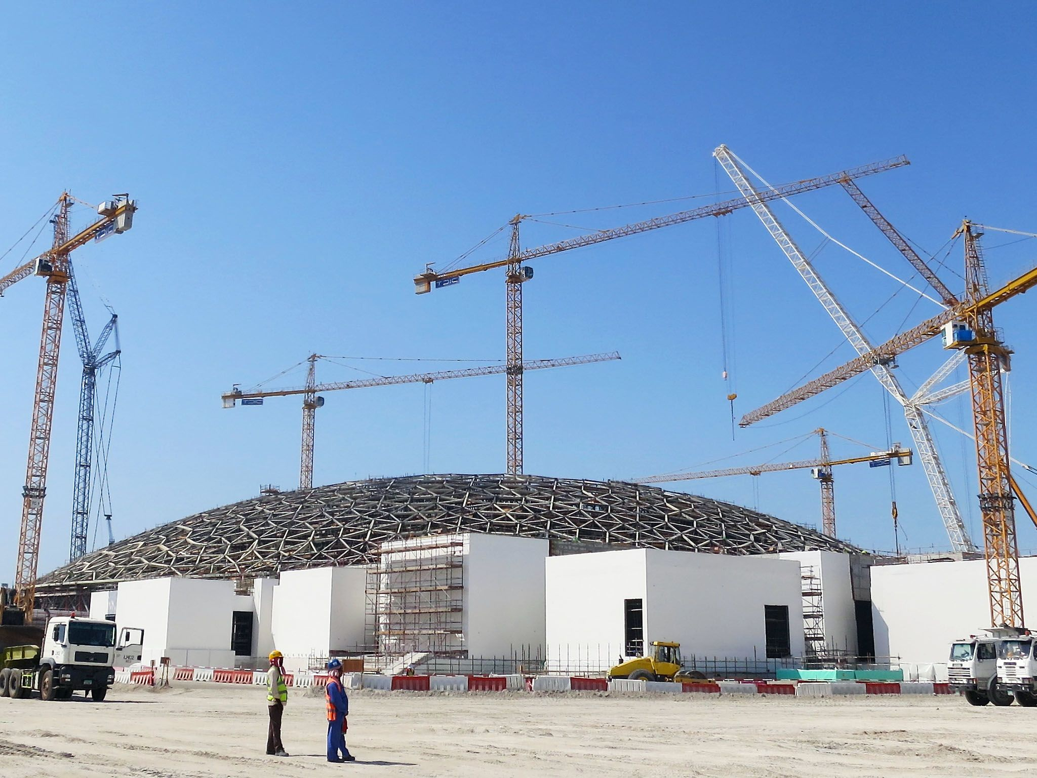 Abu Dhabi: The exterior of the Louvre Ahu Dhabi. This image is from Megastructures: Louvre Abu... [Photo of the day - May 2016]