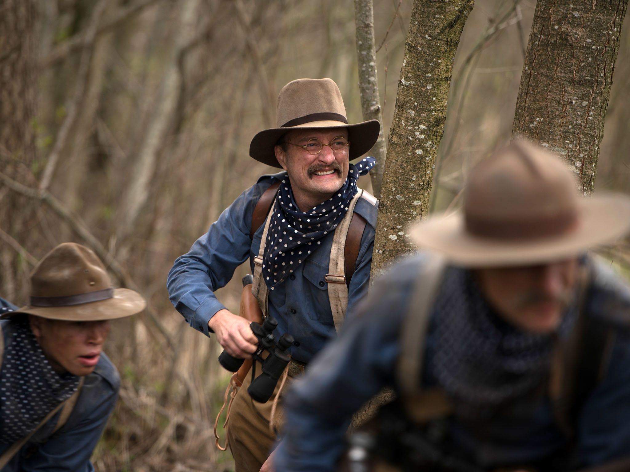 Reenactment- Jack Elliot as Teddy Roosevelt, with two other Rough Riders during The Battle of... [Photo of the day - September 2016]
